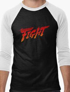 """-GEEK- Street Fighter """"Fight"""" Men's Baseball ¾ T-Shirt"""