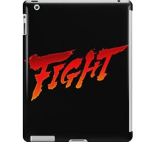 "-GEEK- Street Fighter ""Fight"" iPad Case/Skin"
