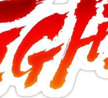 "-GEEK- Street Fighter ""Fight"" Sticker"