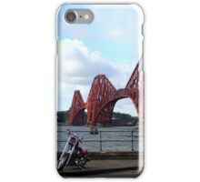 Biker bridge iPhone Case/Skin