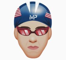 MICHAEL PHELPS EMOJI One Piece - Short Sleeve