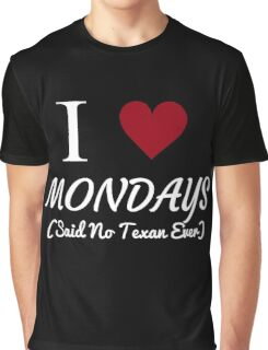 Teaxas Workforce Graphic T-Shirt