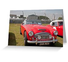 Austin Saloon 1964  2912cc Greeting Card