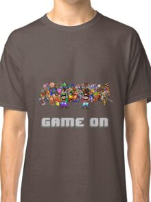 Game On! Video Game Crowd with Mario and Luigi Classic T-Shirt