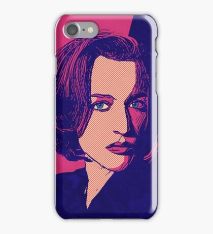 Icons - Gillian Anderson iPhone Case/Skin