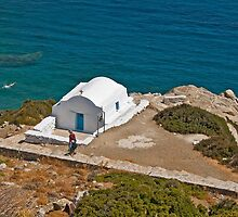 Chapel by the sea (II) by Konstantinos Arvanitopoulos