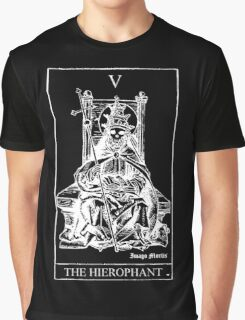 The Hierophant Tarot V Graphic T-Shirt