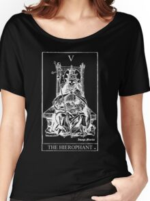 The Hierophant Tarot V Women's Relaxed Fit T-Shirt