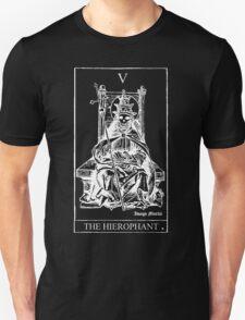 The Hierophant Tarot V Unisex T-Shirt