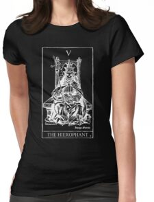 The Hierophant Tarot V Womens Fitted T-Shirt