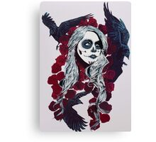 dia los murder birds!! Canvas Print