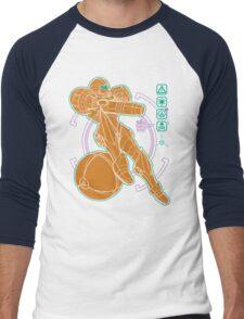 Anatomy of a Bounty Hunter Men's Baseball ¾ T-Shirt