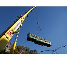 Tram fishing Photographic Print