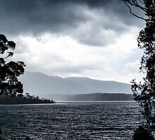 Storm on Wallaga Lake by pcbermagui