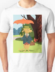 Mister Barkly Goes To The Park Unisex T-Shirt