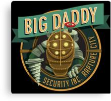 BigDaddy Security   Canvas Print