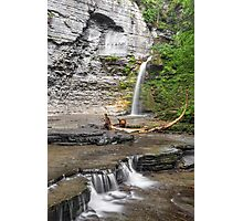 Waterfall at Eagle Cliff Photographic Print