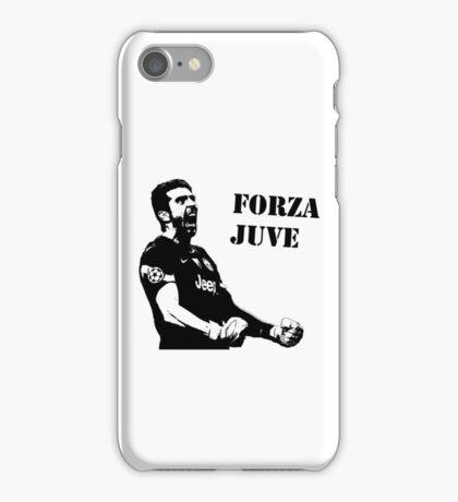 Gianluigi Buffon - Forza Juve iPhone Case/Skin