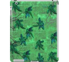 Dragonflies Green Forest iPad Case/Skin
