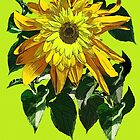 Exuberant Sunflowers -  by DAdeSimone