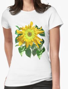 Exuberant Sunflowers -  Womens Fitted T-Shirt