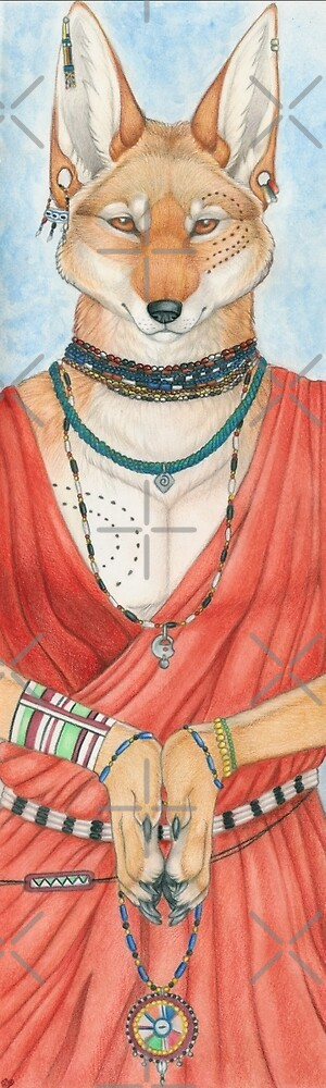 Masai Jackal by Sarah Thomas