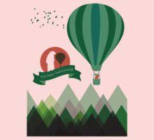 Hot Bear Ballooning Kids Clothes