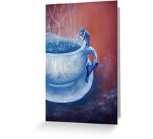 Hot Water Greeting Card