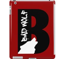 B is for Bad Wolf iPad Case/Skin
