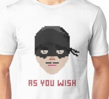 The Princess Bride, Westley - As You Wish Pixels Unisex T-Shirt