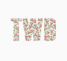 TWD Logo - Floral Unisex T-Shirt