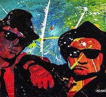 Blues Brother in full color by veermania