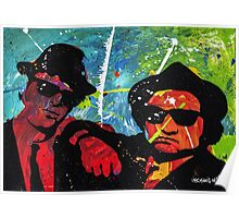 Blues Brother in full color Poster