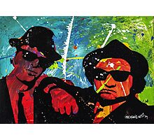 Blues Brother in full color Photographic Print