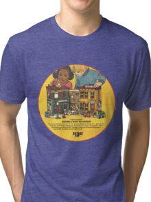Fisher Price Sesame Street Playhouse Ad Tri-blend T-Shirt