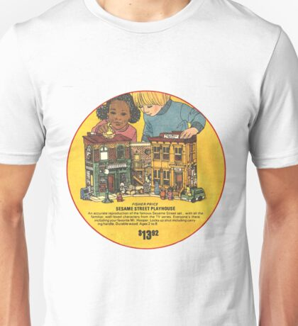 Fisher Price Sesame Street Playhouse Ad Unisex T-Shirt