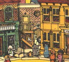 Fisher Price Sesame Street Playhouse Ad Sticker