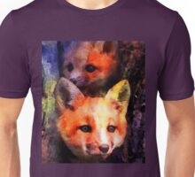 Fabulous Foxes: Mama!  What Was That Sound? Unisex T-Shirt