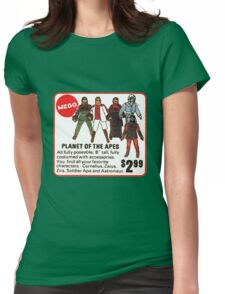 Mego Planet of the Apes Action Figures Womens Fitted T-Shirt