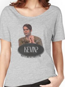 'Kevin?' - Stefon, Saturday Night Live Women's Relaxed Fit T-Shirt