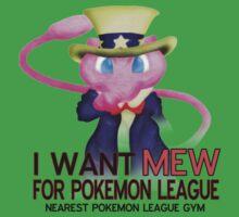 I want mew! Kids Tee