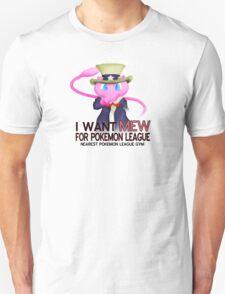 I want mew! Unisex T-Shirt