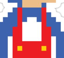 8bit Big Penguin Mario Sticker