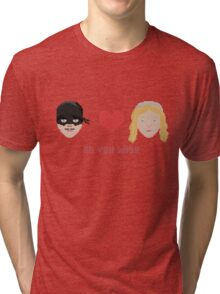Westley and Buttercup, The Princess Bride - As You Wish, Pixels Tri-blend T-Shirt