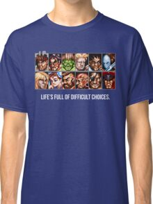 Street Fighter 2 Choices Classic T-Shirt