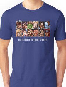Street Fighter 2 Choices Unisex T-Shirt