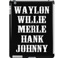 The legend country All star  iPad Case/Skin