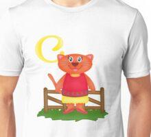C is for Cat Unisex T-Shirt