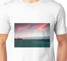 Sunset over Andover Unisex T-Shirt