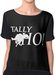Tally Ho! Chiffon Top